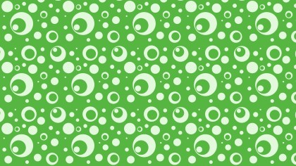 Green Circle Background Pattern