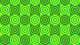 Green Concentric Circles Pattern Illustrator