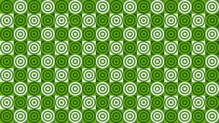 Green Seamless Concentric Circles Pattern Background Graphic