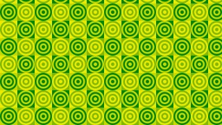 Green Seamless Concentric Circles Background Pattern Illustration