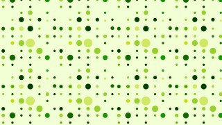 Light Green Random Circles Dots Pattern Illustration