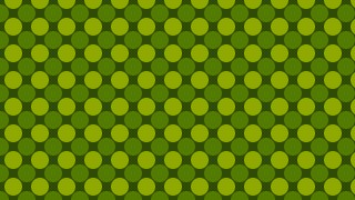 Green Circle Pattern Background Illustration