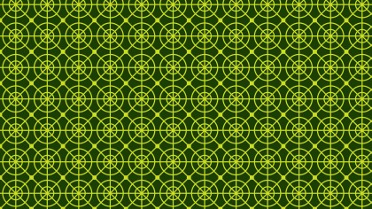 Dark Green Geometric Circle Pattern Background Vector Graphic
