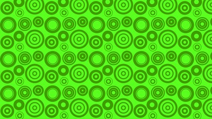 Neon Green Geometric Circle Background Pattern