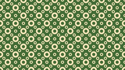 Green Circle Pattern Background Vector Image