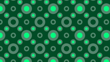 Dark Green Circle Background Pattern Illustrator