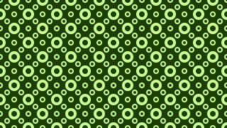 Dark Green Geometric Circle Background Pattern Vector Art