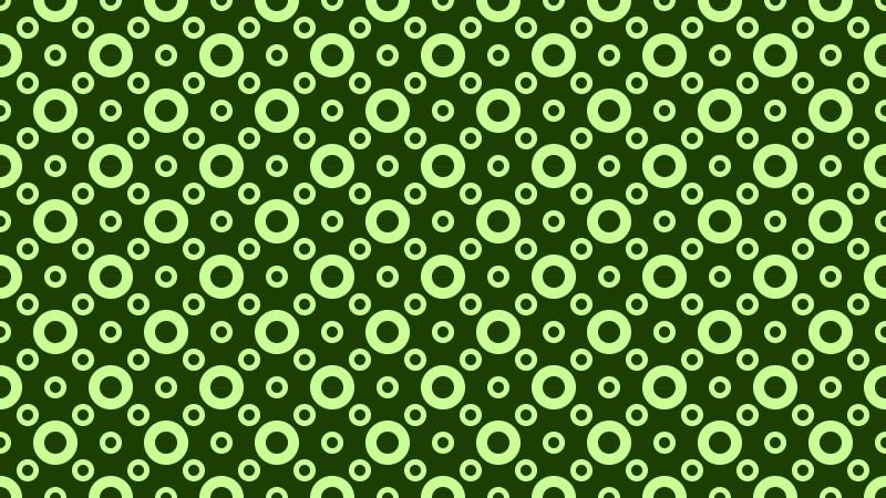 Dark Green Geometric Circle Background Pattern Vector Art