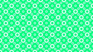 Spring Green Seamless Circle Pattern Background Illustration