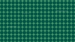Dark Green Seamless Geometric Circle Background Pattern Vector Image