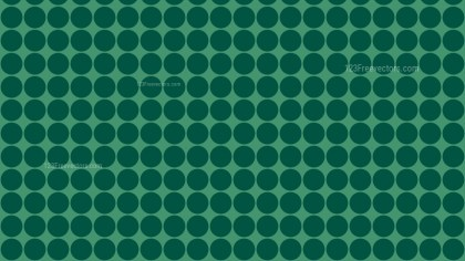Dark Green Seamless Geometric Circle Background Pattern Vector Image