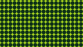 Dark Green Circle Pattern