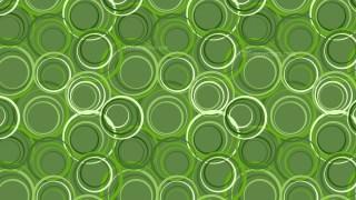 Green Geometric Circle Pattern