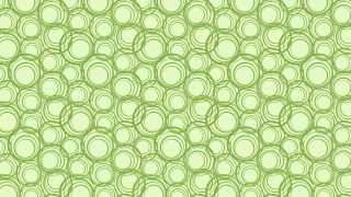 Light Green Geometric Circle Pattern Background