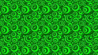 Neon Green Geometric Circle Pattern Background