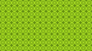 Green Circle Pattern Background Image