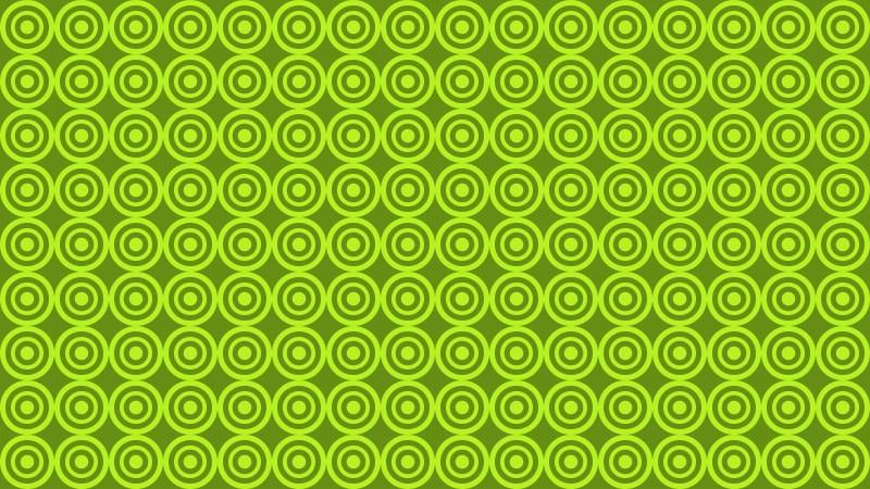 Green Circle Pattern Background Image
