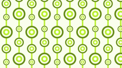 Green Circle Background Pattern Vector Graphic