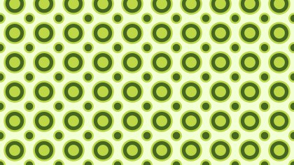 Green Geometric Circle Pattern Background Illustrator