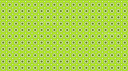 Green Seamless Circle Pattern Vector
