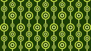 Dark Green Seamless Geometric Circle Pattern Background Design