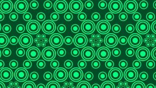 Dark Green Circle Pattern Background