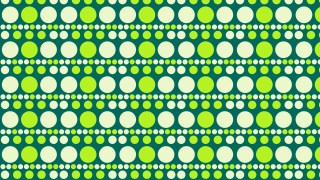 Green Circle Pattern Illustrator