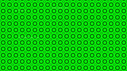 Neon Green Geometric Circle Pattern Background Graphic
