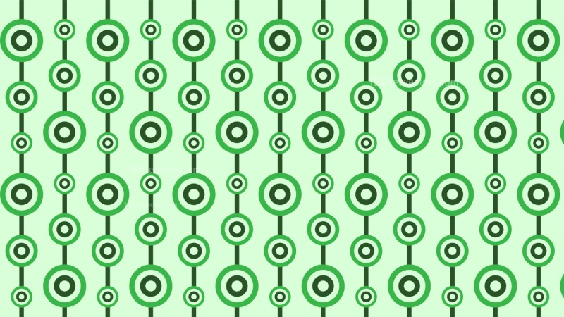 Light Green Seamless Circle Background Pattern Vector Graphic