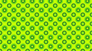 Lime Green Seamless Geometric Circle Background Pattern Vector Illustration