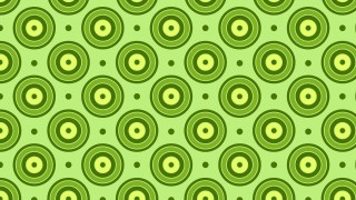 Green Concentric Circles Pattern Vector