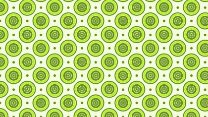Green Concentric Circles Pattern Background Vector Art