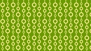 Green Seamless Geometric Circle Background Pattern