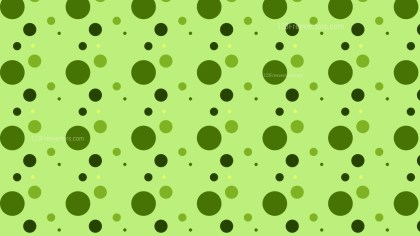 Green Random Dots pattern