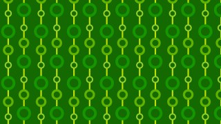 Green Geometric Circle Pattern Background Vector Graphic