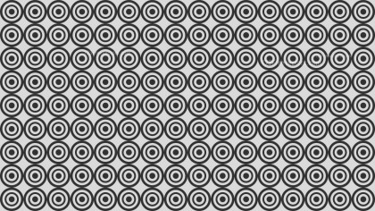 Black and Grey Concentric Circles Pattern Background