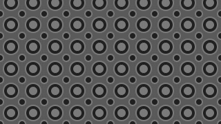 Black and Grey Circle Pattern