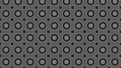 Black and Grey Circle Pattern