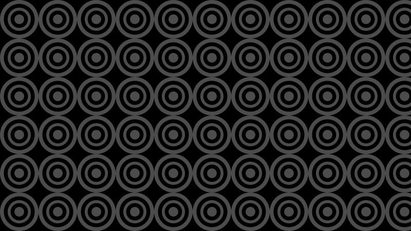 Black Circle Pattern Background