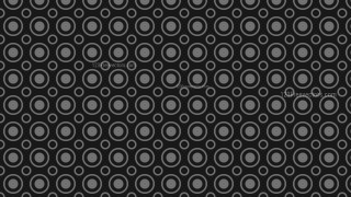 Black Circle Background Pattern