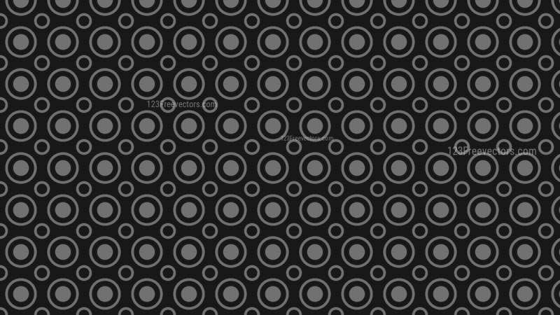 Black Circle Background Pattern