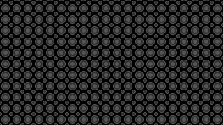 Black Geometric Circle Pattern