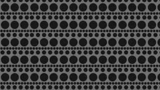 Black Geometric Circle Pattern Background Vector