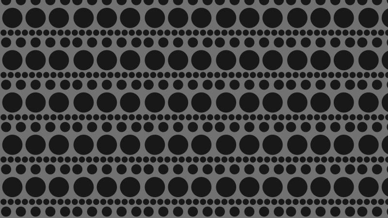 Black Geometric Circle Pattern Background Vector
