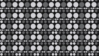 Black and Grey Geometric Circle Background Pattern Vector Art