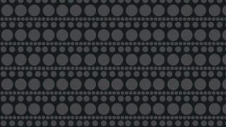 Black Seamless Circle Pattern Graphic