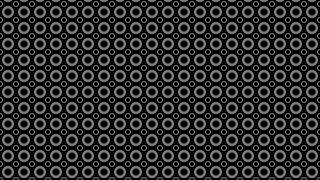 Black Seamless Circle Background Pattern Design