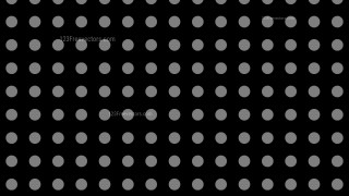 Black Seamless Geometric Circle Pattern Background Vector Graphic