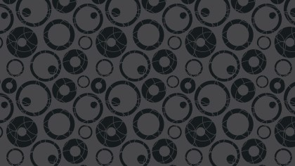 Black Circle Pattern Vector