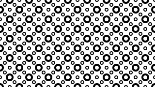 Black and White Circle Pattern Background Image